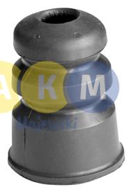 rubber buffer of shock absorber; back
