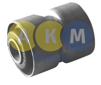 Tuleja metalowo-gumowa resoru