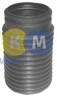 rubber buffer and bellow of shock absorbers