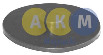 pressure disk for leaf spring;